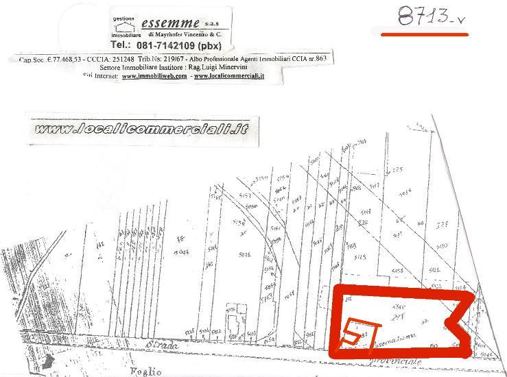 Terreno Edificabile Comm.le/Ind.le in vendita a Pignataro Maggiore, 9999 locali, prezzo € 220.000 | CambioCasa.it
